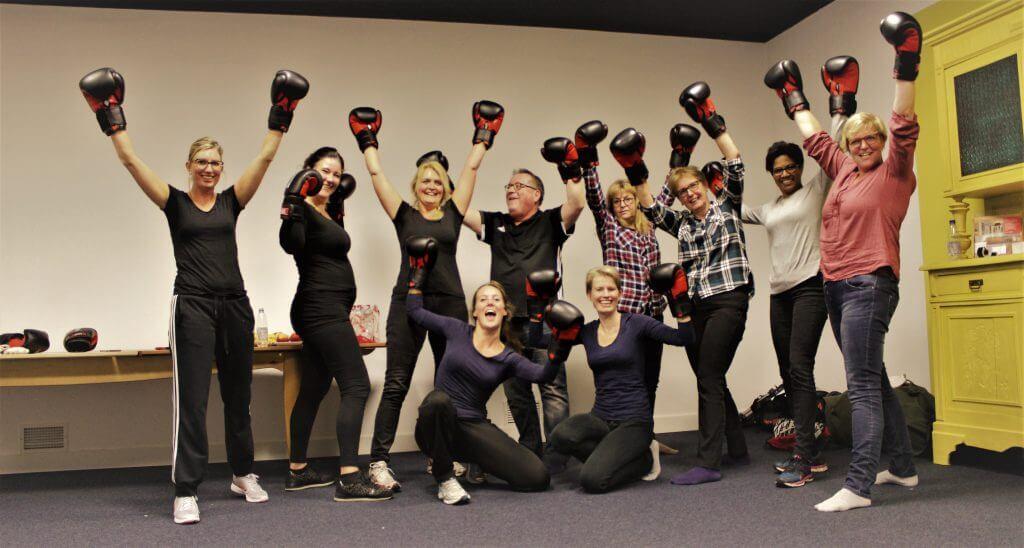 Teamsamenwerking Bokscoaching zwolle teambuilding
